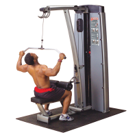 Pro Dual Lat & Mid Row Machine