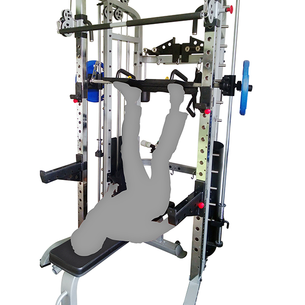 smith machine bar weight planet fitness