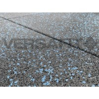 VF-RFT15-BF Blue Fleck VersaFit Rubber Flooring Tile 1m x 1m x 15mm