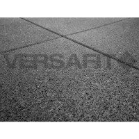 VF-RFT15 Black VersaFit Rubber Flooring Tile 1m x 1m x 15mm