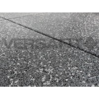 VF-RFT15-GF Grey Fleck VersaFit Rubber Flooring Tile 1m x 1m x 15mm