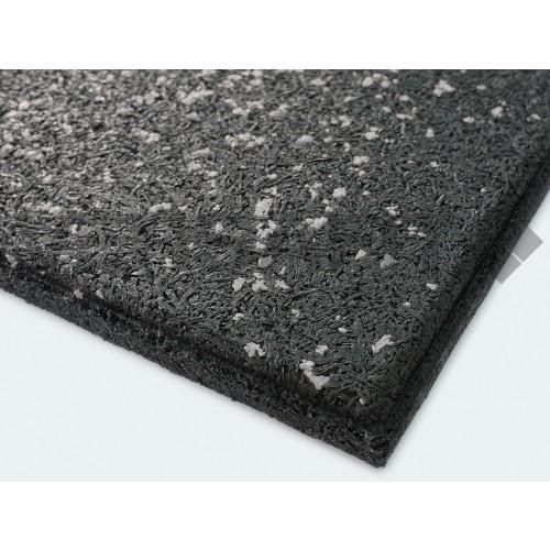 VF-RFT15-GF Grey Fleck VersaFit Rubber Flooring Tile 1m X